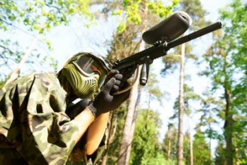 Paintball : 5 lettres, 5 mots !