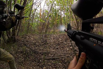 La GoPro, une inconditionnelle du paintball ?