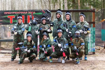 Le Paintball en club ? Vite on s'inscrit !