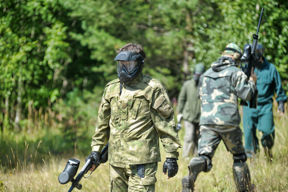 Je n'ai pas aimé le paintball. Que faire ?